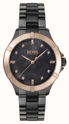 BOSS | mini sport féminin | bracelet en acier gris | nacre 1502470