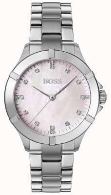 BOSS | mini sport féminin | bracelet en acier argenté | cadran argenté | 1502469