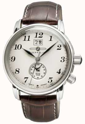 Montre homme Graf Zeppelin Quartz marron 7644-5