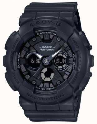 Casio Chronographe d'alarme numérique / analogique Baby G noir BA-130-1AER