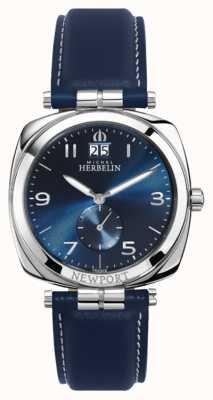 Michel Herbelin Cadran / bracelet bleu unisexe Newport 18264/AP15BL