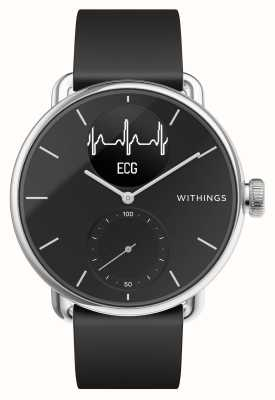 Withings Scanwatch 38mm Black - Montre connectée hybride avec ECG HWA09-MODEL 2-ALL-INT