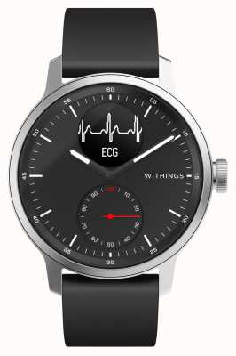 Withings Scanwatch 42mm Black - Montre connectée hybride avec ECG HWA09-MODEL 4-ALL-INT