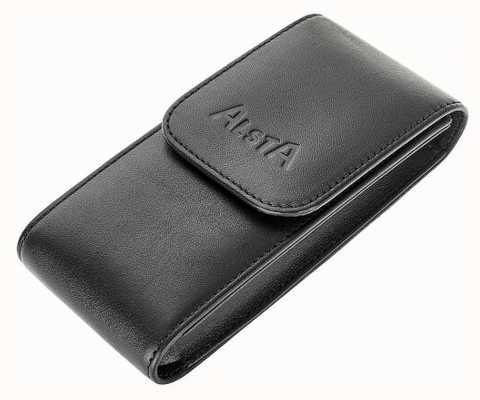 Alsta Pochette de rangement en cuir noir italien uniquement ALSTA-POUCH