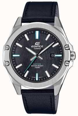 Casio Bracelet en cuir saphir Edifice pour homme EFR-S107L-1AVUEF