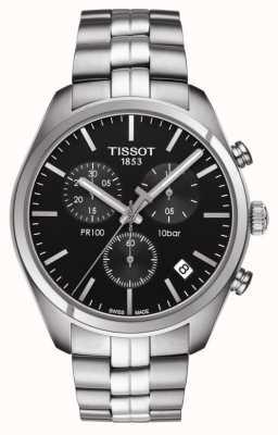 Tissot Pr 100 | chronographe | cadran noir T1014171105100