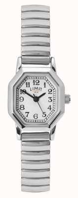 Limit Bracelet femme en acier inoxydable | cadran blanc / argent 60122.38
