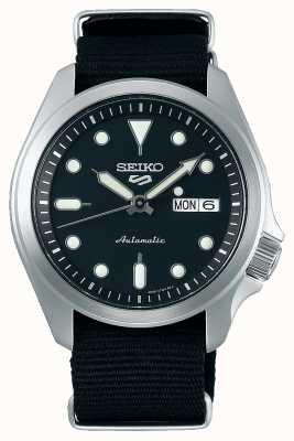 Seiko 5 sport | automatique | bracelet en tissu noir SRPE67K1