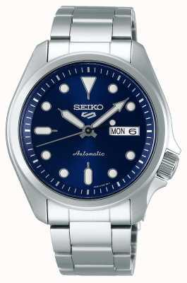 Seiko 5 sport | montre automatique | cadran bleu | bracelet en acier inoxydable SRPE53K1