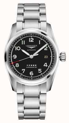 Longines Spirit | hommes | automatique suisse | bracelet en acier inoxydable L38104539