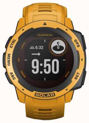 Garmin Bracelet en caoutchouc Instinct Solar GPS Sunburst 010-02293-09