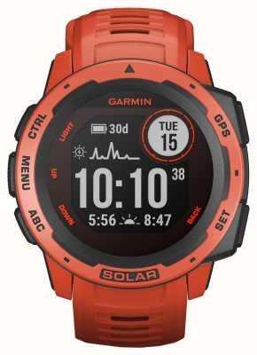 Garmin Bracelet en caoutchouc rouge solaire Instinct GPS 010-02293-20