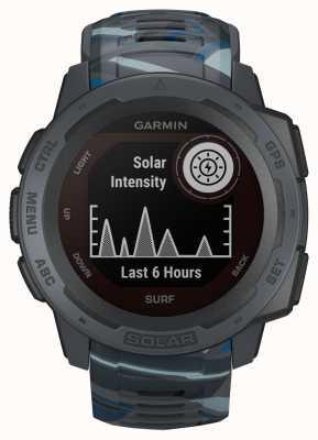 Garmin Bracelet en caoutchouc pour pipeline Instinct Solar GPS Édition Surf 010-02293-07