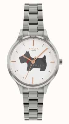 Radley Place Meridan | bracelet en acier inoxydable | cadran à motif de chien RY4519