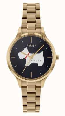 Radley Place Meridan | bracelet en acier doré | cadran bleu RY4520