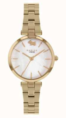 Radley Vue ouest | bracelet en acier doré | cadran blanc RY4512