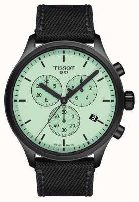 Tissot Hommes | chrono xl | cadran vert | bracelet en tissu noir T1166173709100