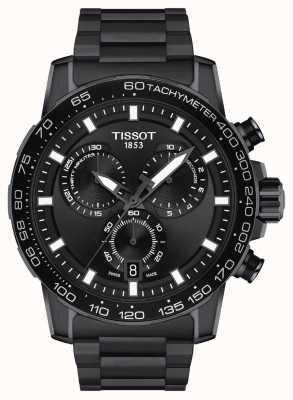 Tissot Chrono Supersport | cadran noir | bracelet en acier pvd noir T1256173305100