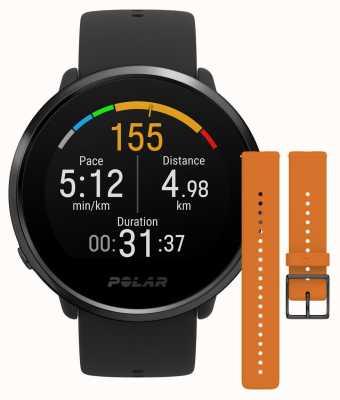 Polar Ignite | boîtier noir noir + bracelet orange 90084126