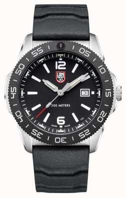 Luminox Plongeur pacifique homme | cadran noir | bracelet en caoutchouc noir XS.3121