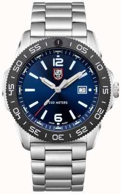 Luminox Plongeur pacifique homme | cadran bleu | bracelet en acier inoxydable XS.3123