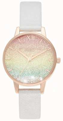 Olivia Burton Rainbow Glitter Wishing Watch Cadran Midi OB16EX228