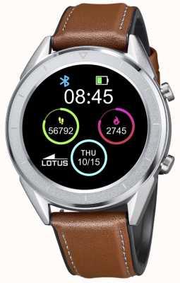 Lotus Smartime | hommes | bracelet en cuir marron + bracelet gratuit L50008/1
