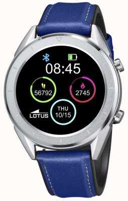 Lotus Smartime | hommes | bracelet en cuir bleu + bracelet gratuit L50008/2