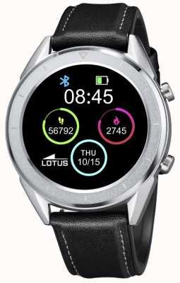 Lotus Smartime | hommes | bracelet en cuir noir + bracelet gratuit L50008/3