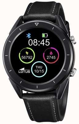 Lotus Smartime | hommes | bracelet en cuir noir + bracelet gratuit L50009/1