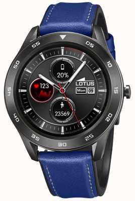 Lotus Hommes | smartime | bracelet en cuir bleu + bracelet gratuit 50012/2