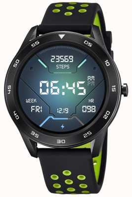 Lotus Hommes | smartime | bracelet en silicone noir + bracelet gratuit 50013/1