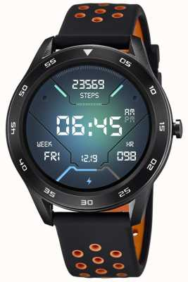 Lotus Smartime | hommes | bracelet en silicone noir + bracelet gratuit L50013/2