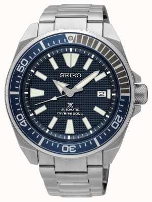 Seiko Prospex | plongeurs automatiques 200m | cadran bleu en acier inoxydable SRPF01K1