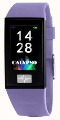 Calypso Unisexe | smartime | bracelet en silicone violet + bracelet gratuit K8500/2