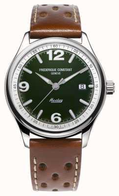 Frederique Constant Homme vintage rallye healey automatique | bracelet en cuir marron FC-303HGRS5B6