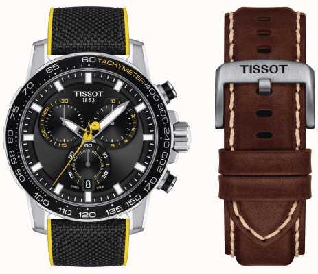 Tissot Tour de france 2020 supersport chrono + bracelet marron T1256171705100