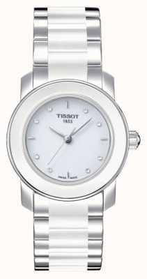 Tissot Montre Cera 28 mm sertie de diamants pour femme T0642102201600