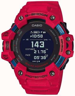 Casio G-shock | g-squad | moniteur de fréquence cardiaque | bluetooth | rouge | GBD-H1000-4ER