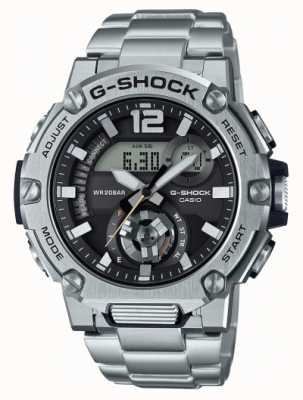 Casio G-shock | acier inoxydable | garde de noyau de carbone | bluetooth | solaire GST-B300SD-1AER