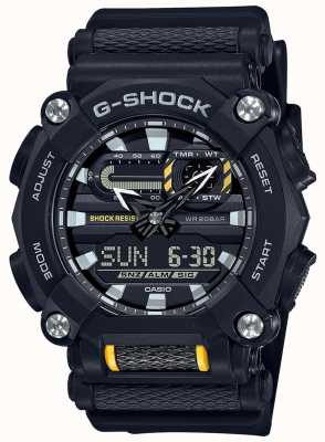 Casio G-shock | robuste | heure du monde | résine noire GA-900-1AER