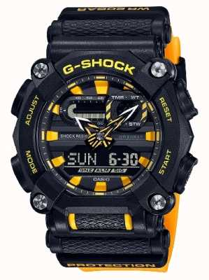 Casio G-shock | édition ltd | robuste | heure du monde | Jaune GA-900A-1A9ER