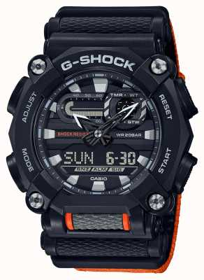 Casio G-shock | édition ltd | robuste | heure du monde | Orange GA-900C-1A4ER