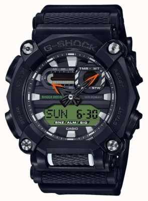 Casio G-shock | édition ltd | robuste | heure du monde | noir GA-900E-1A3ER