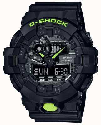 Casio G-shock | camouflage numérique | résine noire GA-700DC-1AER