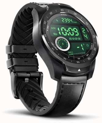 TicWatch Montre intelligente Pro 2020 Shadow Black 139863-WF12106