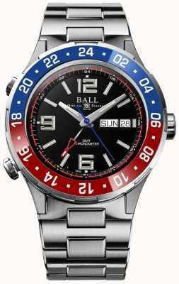 Ball Watch Company Roadmaster marine gmt | édition limitée | automatique | cadran noir DG3030B-S4C-BK