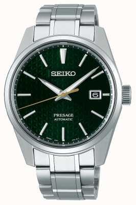 Seiko Presage | automatique | cadran vert | acier inoxydable SPB169J1