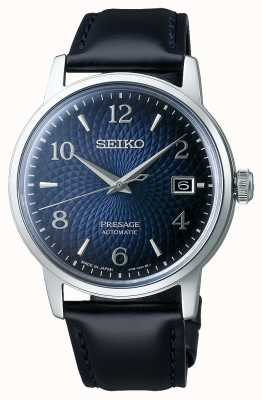 Seiko Presage | cocktail | cadran bleu | automatique | Manhattan SRPE43J1
