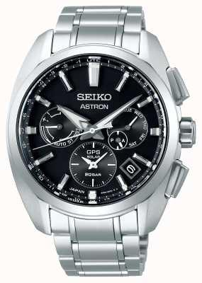 Seiko Astron | titane | solaire | cadran noir | chronographe SSH067J1
